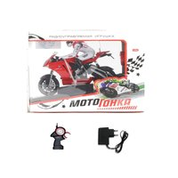 Радиоуправляемый мотоцикл Мотогонка, пультд|у, адапт., ZYC-0630-B5 - М44780