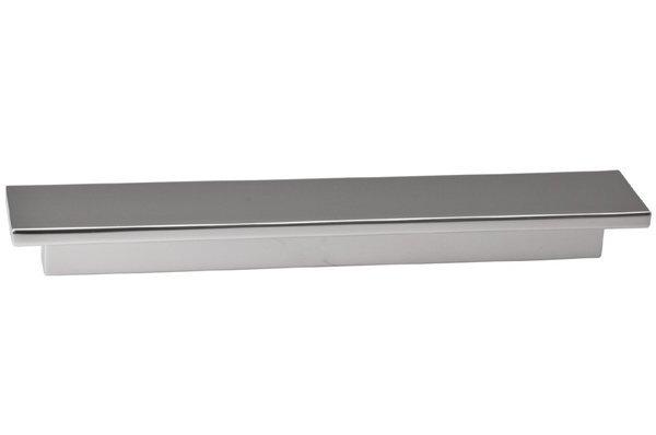 Мебельная ручка-скоба 96мм F108/D-CM Шлифованная сталь