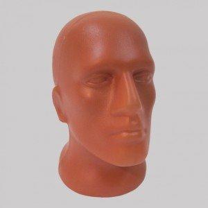 Манекен голова мужская пластиковая Г-202