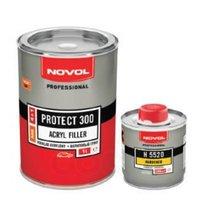 Грунт акриловый 4 1ms черный novol protect300, 1,0 0,25 Novol арт. 37041