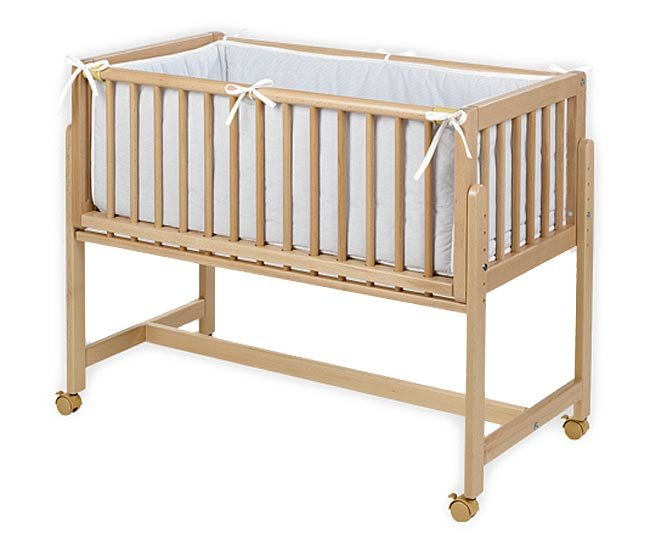 Кроватка-люлька Geuther Betty натуральный 1123 NA