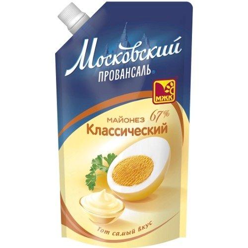 Майонез Московский провансаль классический 67% дой-пак 700мл.
