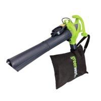 Воздуходув – cадовый пылесос электрический Greenworks 2800W GBV2800