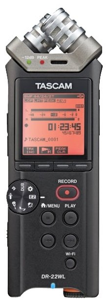 Студийный рекордер/проигрыватель TASCAM DR-22WL