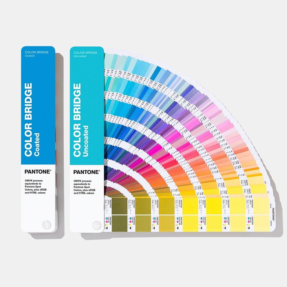 Цветовой справочник Pantone Color Bridge Set 2019