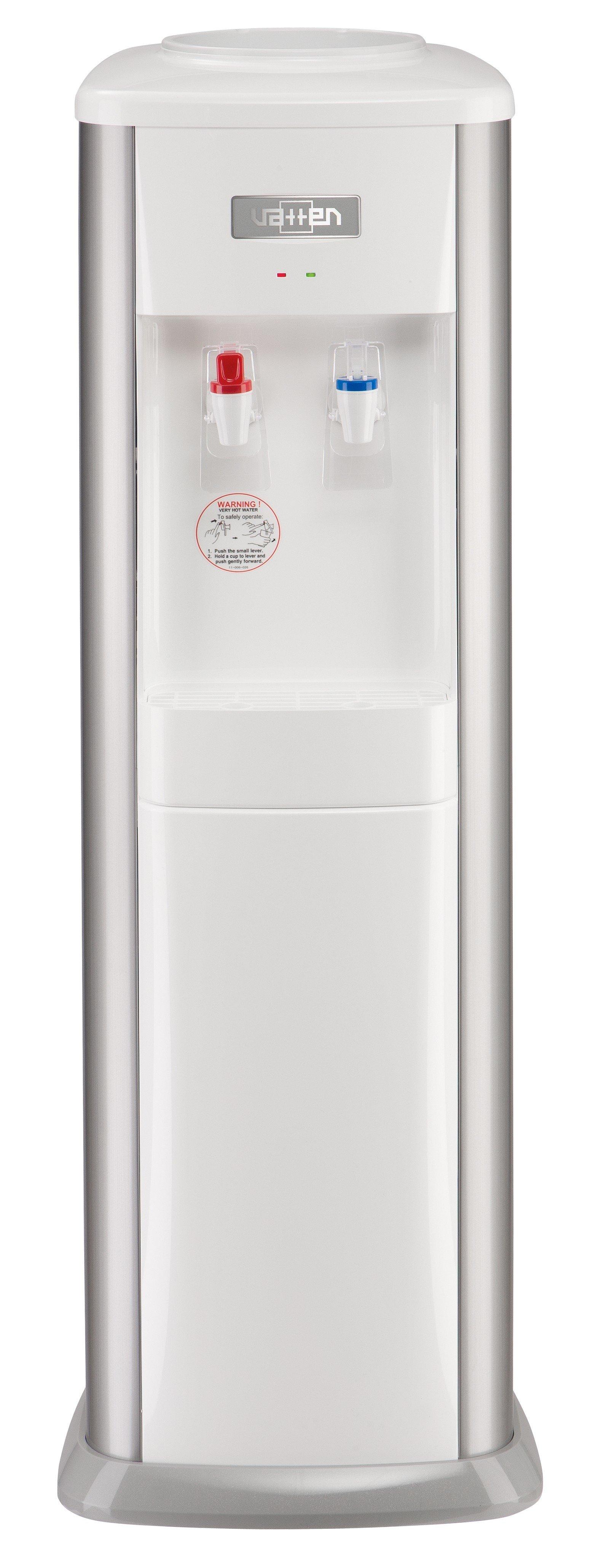 Кулер для воды Vatten V21SK напольный, с нагревом и охлаждением