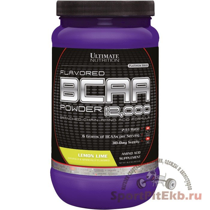 BCAA Powder Ultimate Nutrition (457 гр.) (Ежевика)