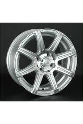 Диски LS Wheels 571 7,0x16 4x108 D65.1 ET31 цвет SF (серебро,полировка) - фото 1