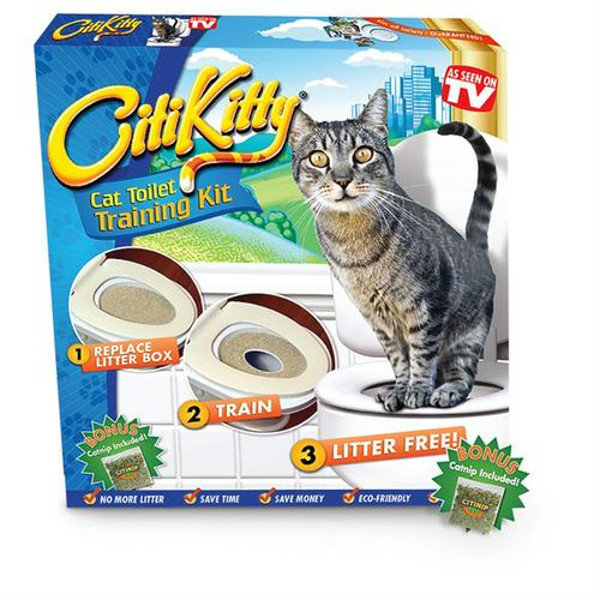 Citi Kitty Система приучения кошек к туалету
