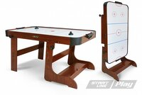 Игровой стол аэрохоккей. Start Line Play Transform Ice
