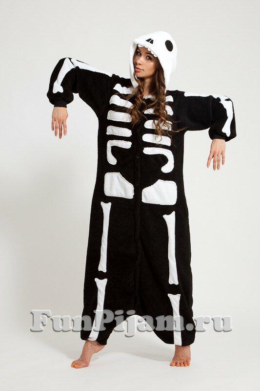 Пижамы Скелеты детские - купить в Москве по выгодной цене 7530a85868238