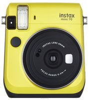 Fujifilm Instax Mini 70, Yellow фотокамера мгновенной печати
