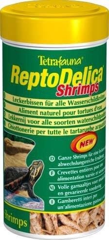 """Корм для водных черепах """"Tetra Repto Min Delica Shrimps"""" с креветками, 250 мл"""