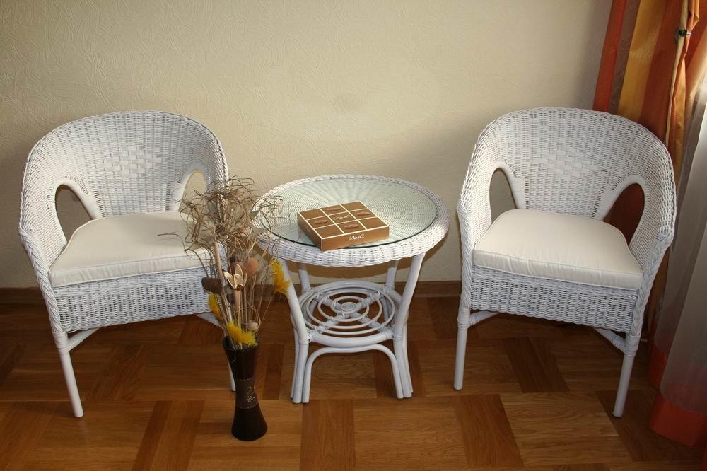Белая мебель из ротанга в Москве  Купить ротанговые