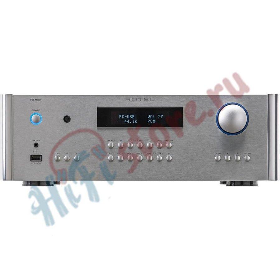 Предварительный усилитель/ЦАП с Bluetooth Rotel RC-1590 Silver