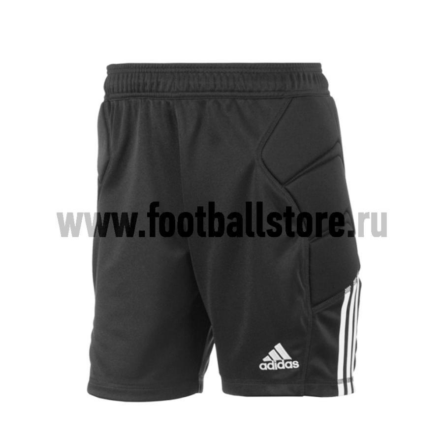 Шорты вратарские Adidas Tierro13 GK short SS13, черный, L, Для разного уровня, полиэстер