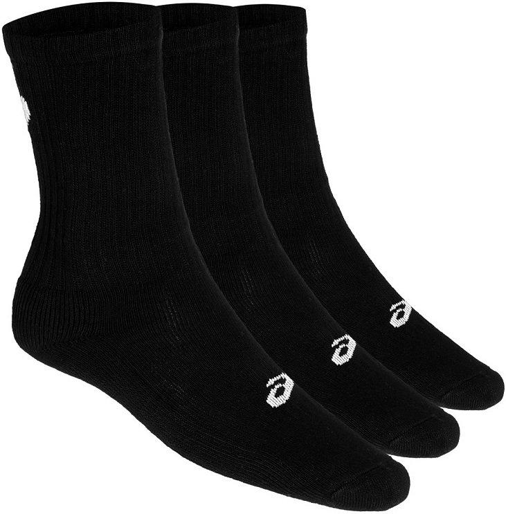 Носки Asics 3PPK Crew (3 пары), черный, L, синтетика