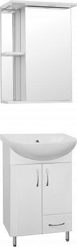 комплект (гарнитур) Мебель для ванной Style Line Эко Стандарт №10 50 белая