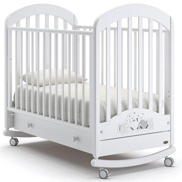 Кроватка Nuovita Grano (колесо, качалка)