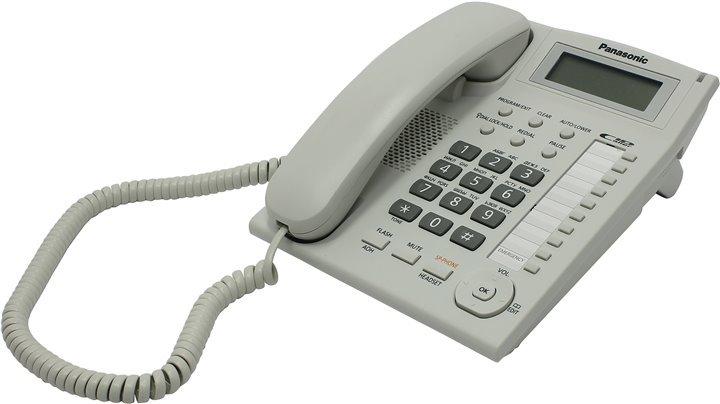 Проводной телефон Panasonic KX-TS2388RUW