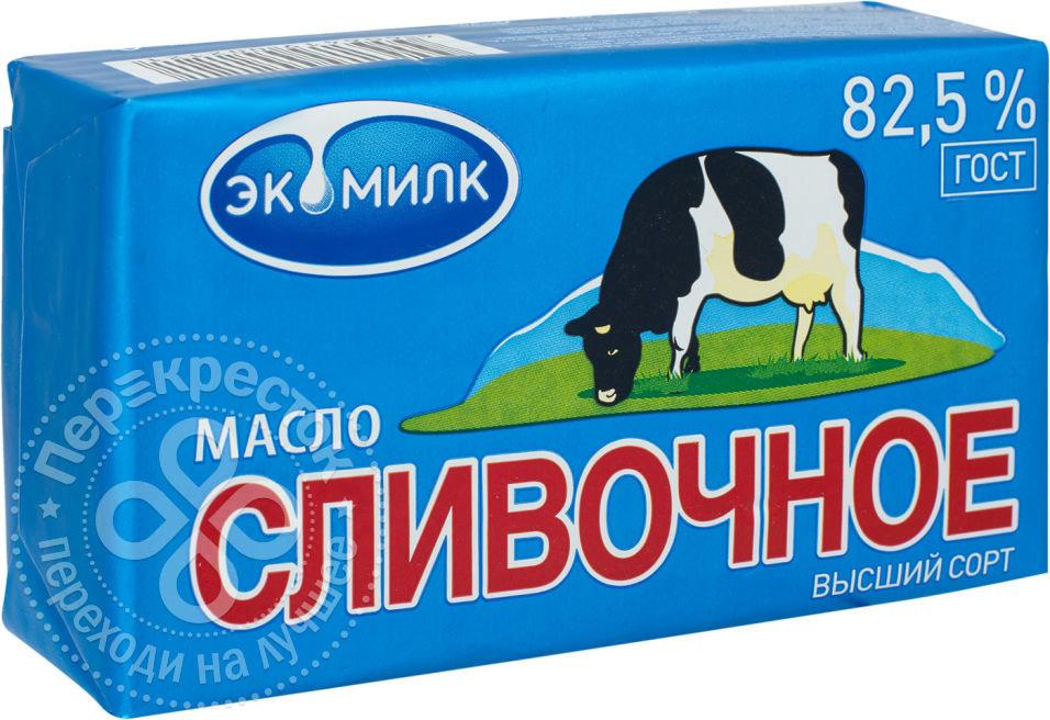 Масло сливочное Экомилк 82.5% 450г