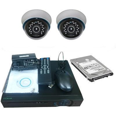 Комплект офисного видеонаблюдения