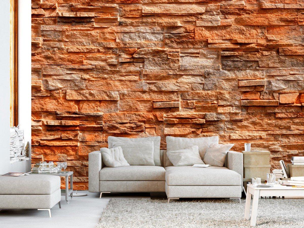 Фотообои «Оранжевый камень», 150x105 см