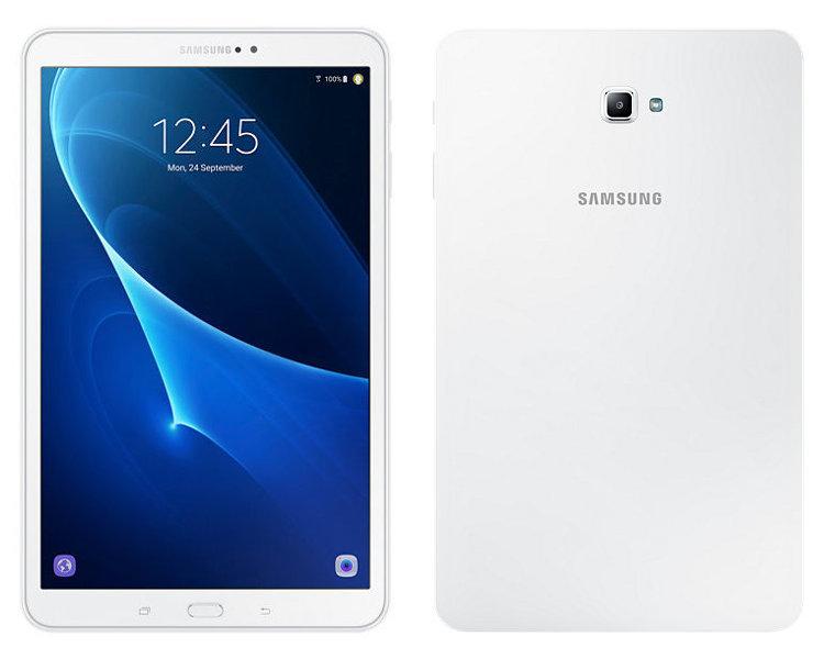 Планшет Samsung SM-T580 Galaxy Tab A 10.1 - 16Gb White SM-T580NZWASER (Exynos 7870 1.6 GHz/2048Mb/16Gb/Wi-Fi/Bluetooth/GPS/Cam/10.1/1920x1200/Android)