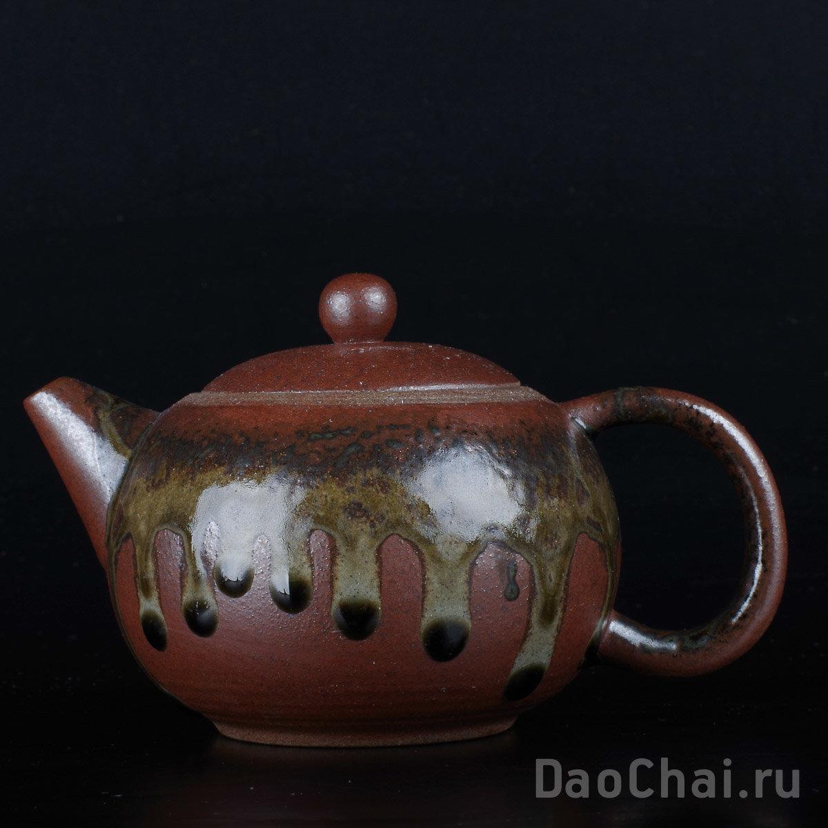 Чайник 225мл Си Ши (керамика, глазурь)