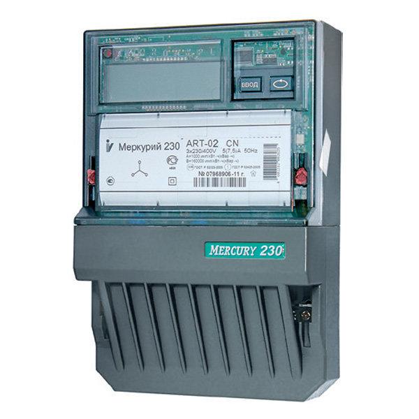 Счетчик электроэнергии Меркурий 230 АRТ-02 СN 10(100)А/380В многотарифный, ЖКИ