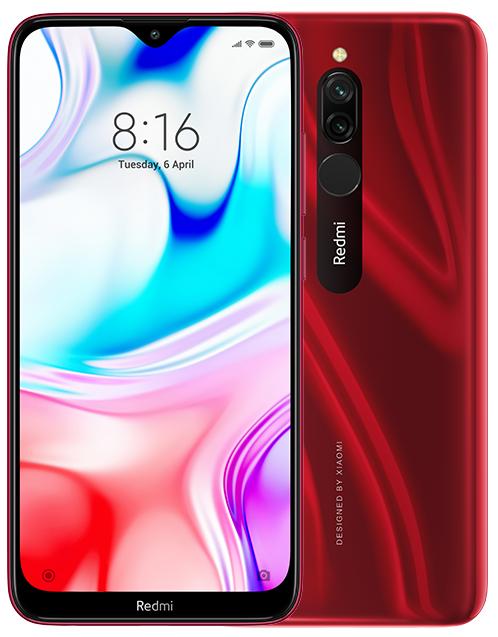 Смартфон Xiaomi Redmi 8 3/32Gb Red