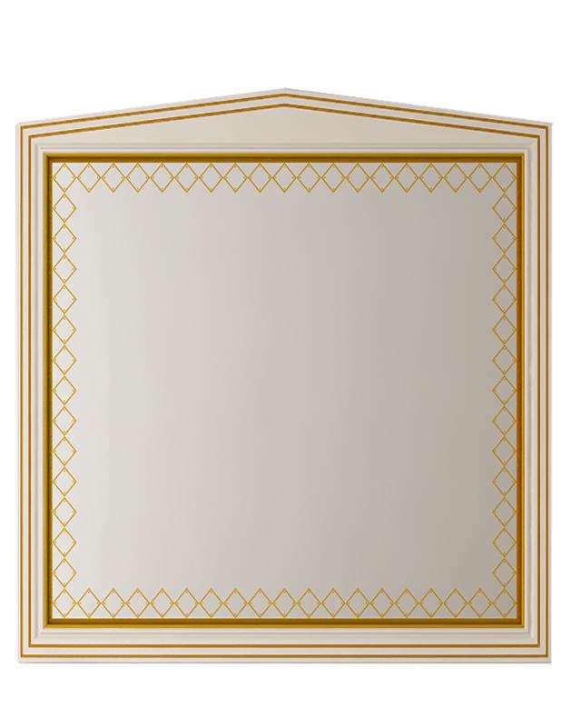 Misty Зеркало Ницца Л-Ниц02090-033, бежевое с патиной