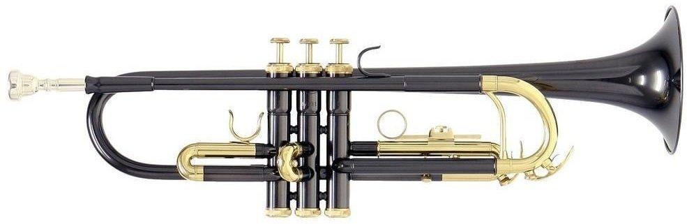 ROY BENSON TR-101К Bb труба (цвет черный-золото)