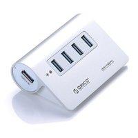 USB хаб ORICO M3H4 Silver