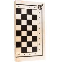 Настольная игра Набор Шахматы + Шашки (2 в 1)