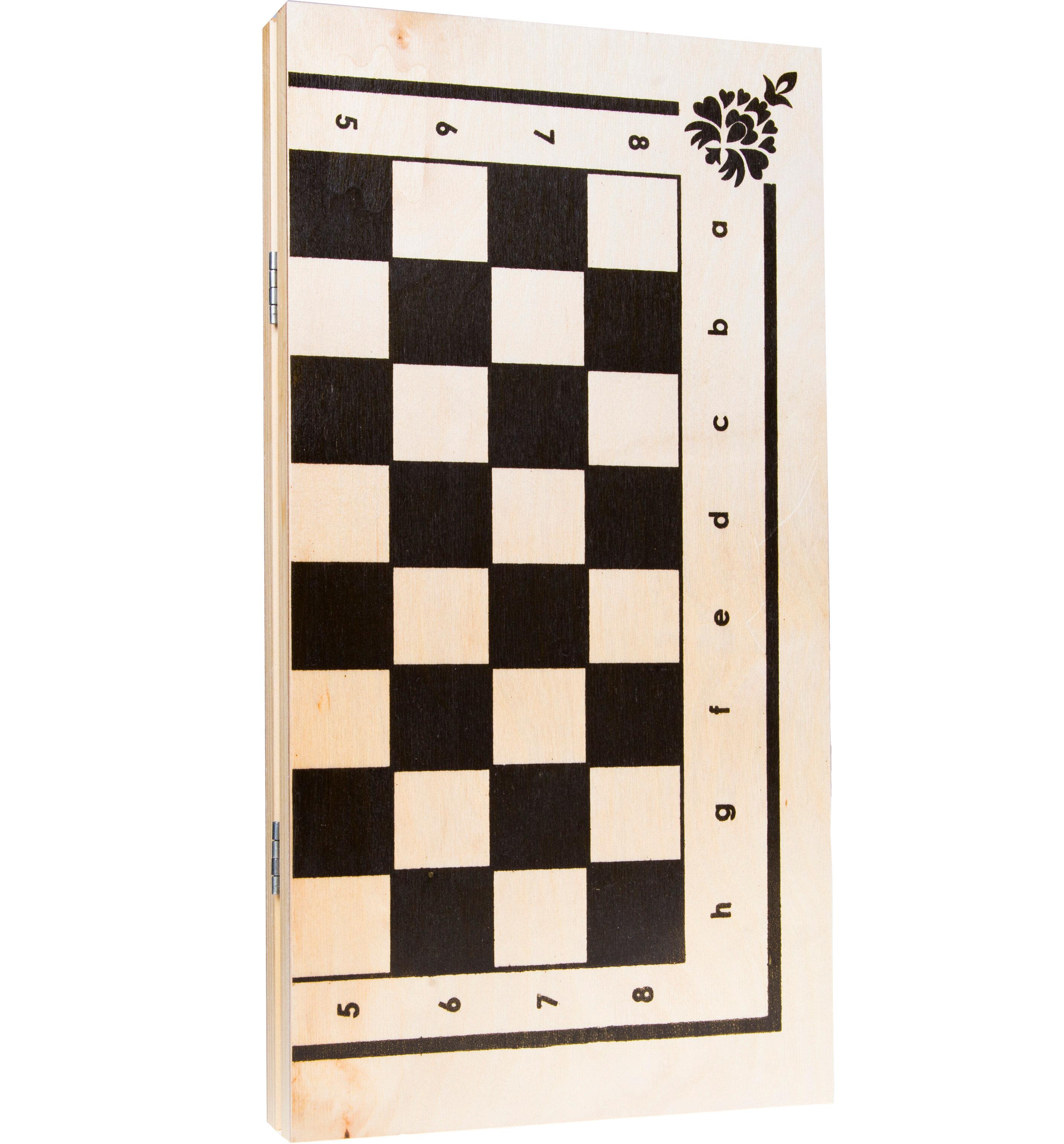 В этом наборе представлены все необходимые атрибуты, чтобы устроить для юных игроков турнир по одной из 7 разновидностей шашек.