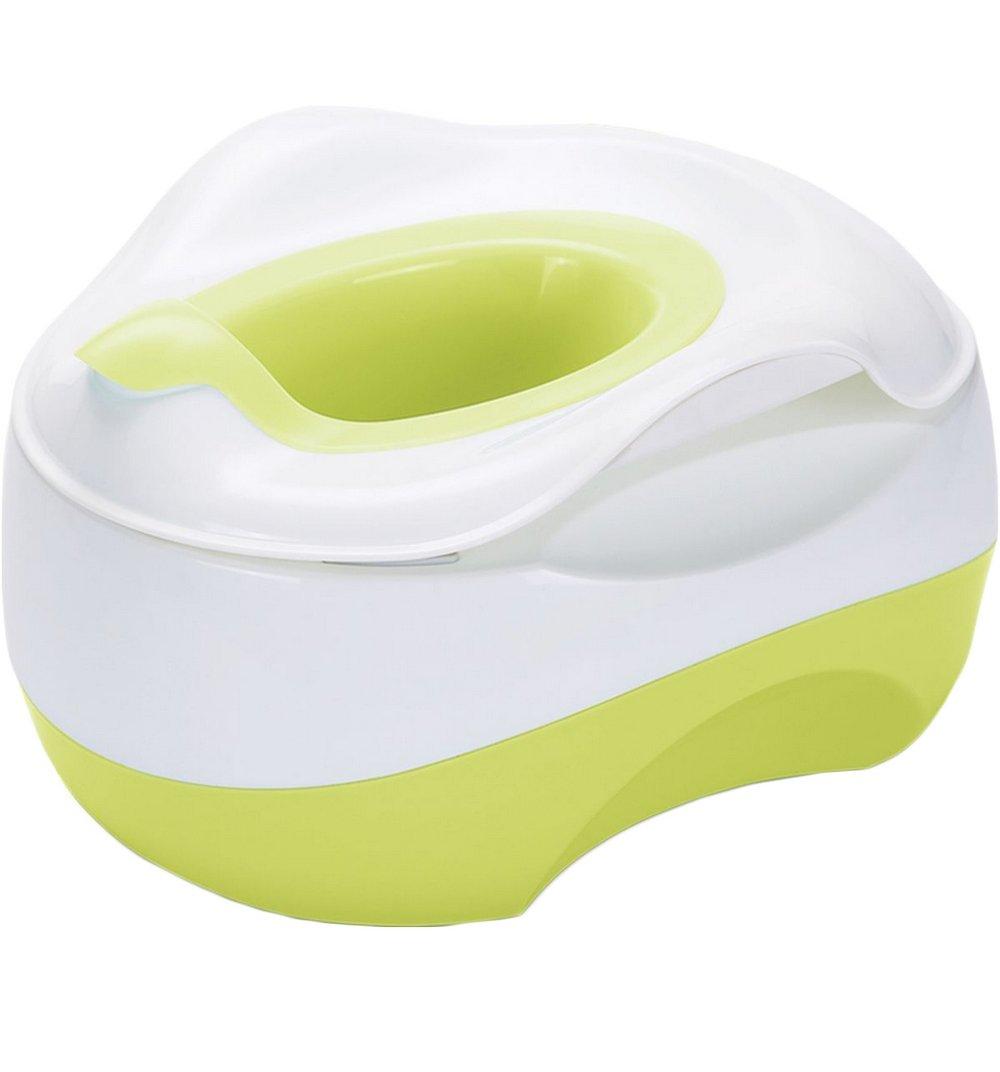 Горшок Happy Baby X-pot, цвет: зеленый