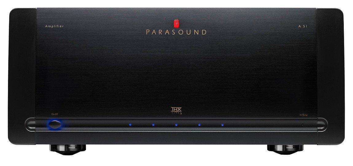 5-ти канальный усилитель мощности Parasound A51 black