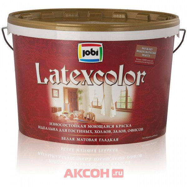 краска jobi a7 2,5л latexcolor акриловая матовая 11831