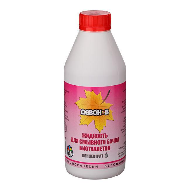 Девон-В - жидкость для сливного бачка биотуалетов