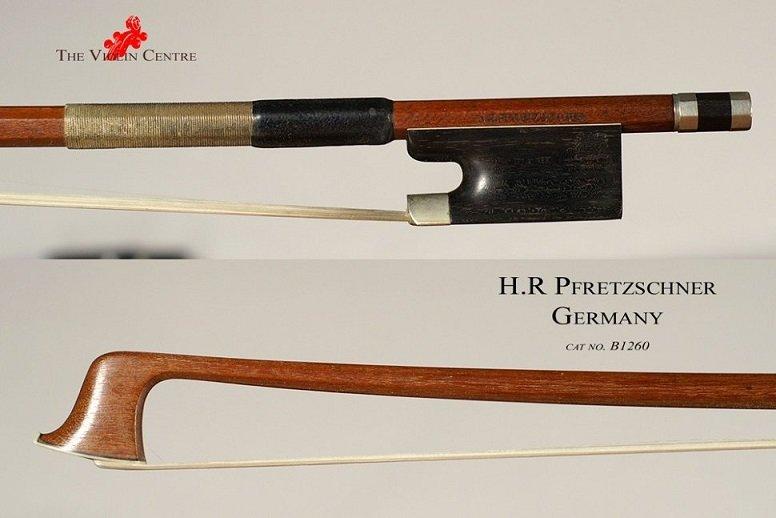 GEWA H.R. Peretzschner Смычок для контрабаса мастеровой, восьмигранная трость