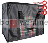 Тканевая сумка-баул малая с карманом 46х37х21см 36л