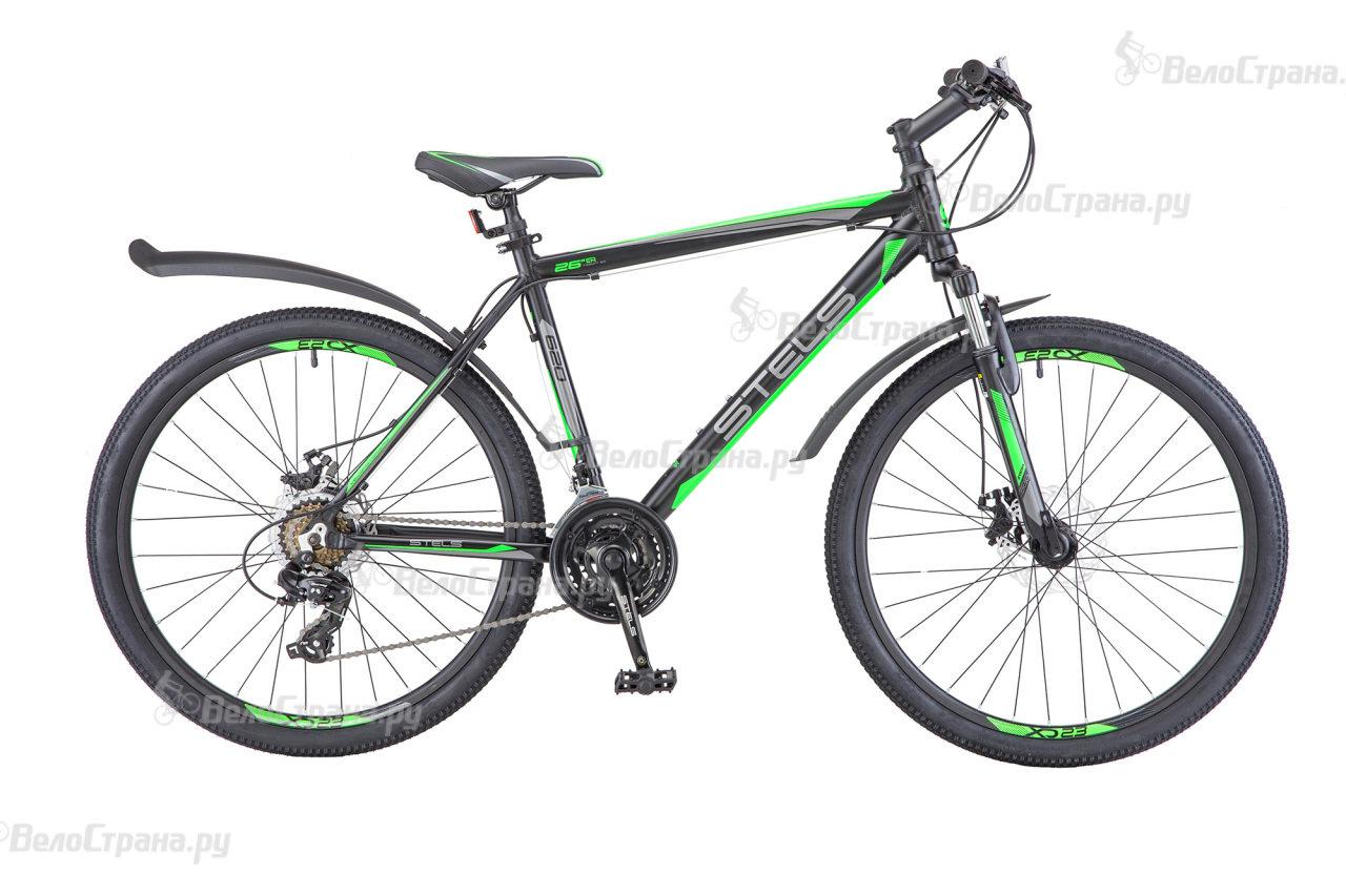 Велосипед Stels Navigator 620 MD V010 (2018) Черный 19 ростовка