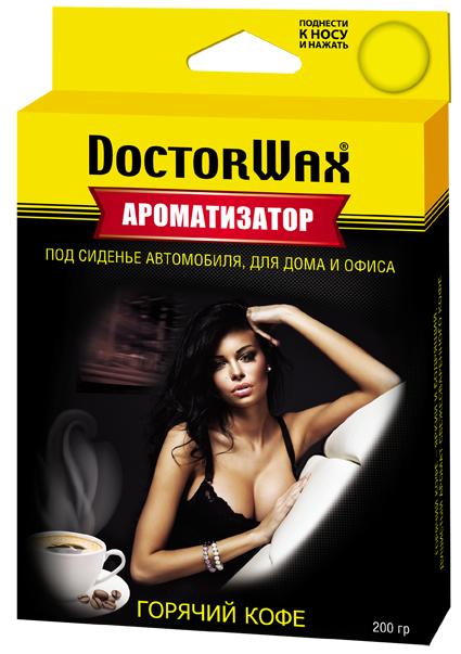 Ароматизатор воздуха под сиденье Doctor Wax. Кофе DW0806