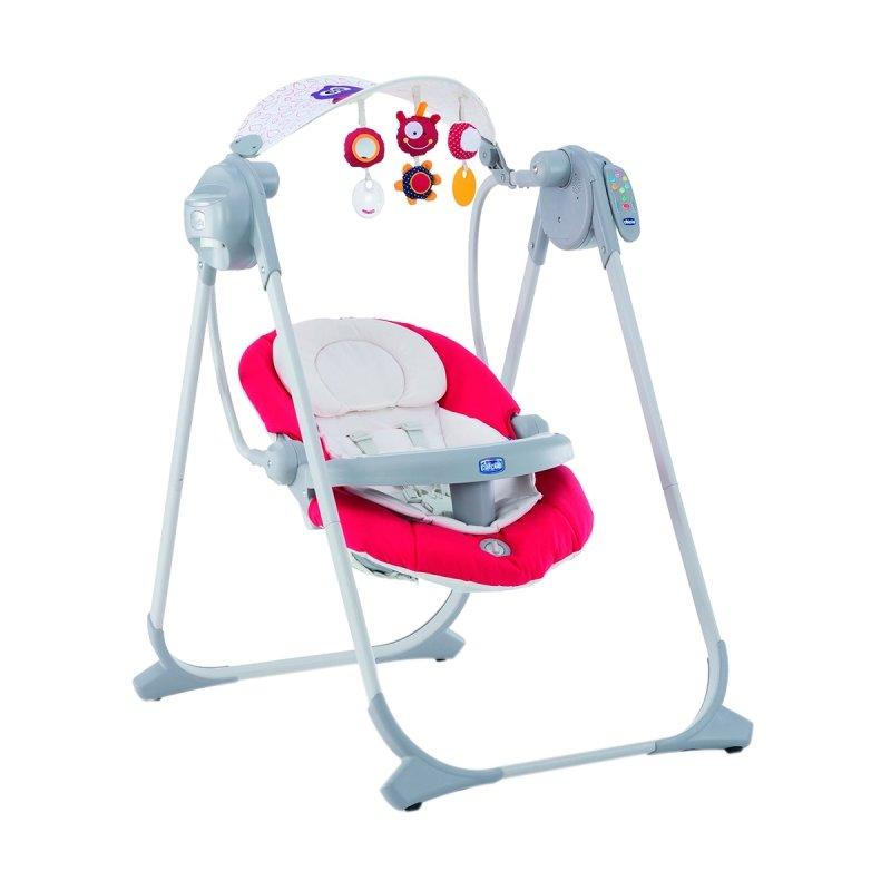 Электронные качели CHICCO Polly Swing Up (Чикко Полли Свинг Ап), цвет Paprika (арт. 07079110710000)