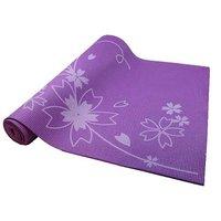 Коврик для йоги и фитнеса Z-SPORTS с принтом, 173*61*0.4см, фиолетовый (BB8300)