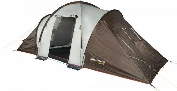 Палатка 4-местная Outventure Tourist tent TWIN SKY 4 (бежевый)