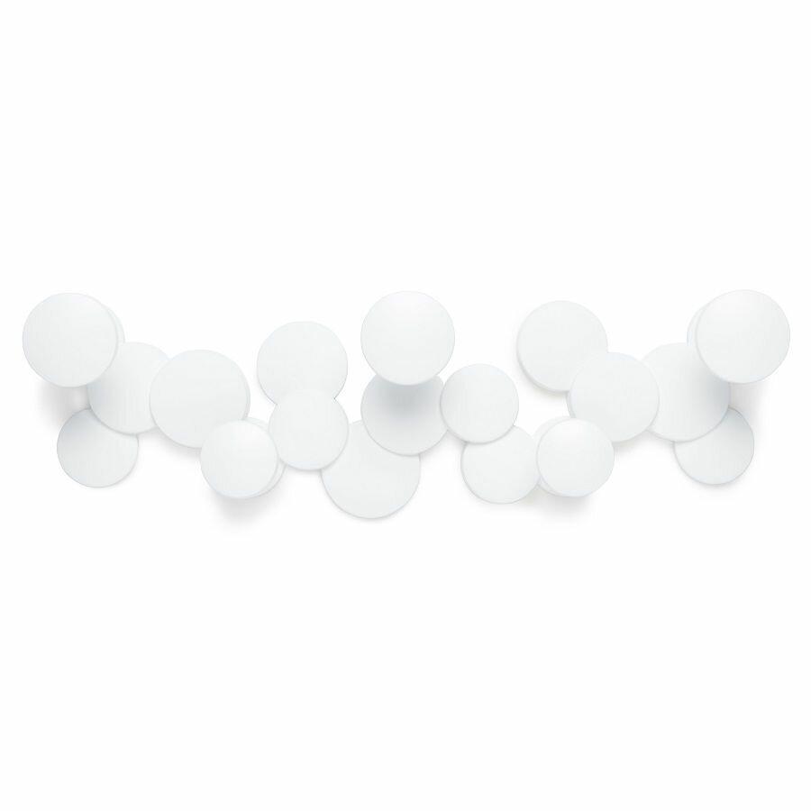 Вешалка настенная bubble hook, белая Umbra FD-1010187-660
