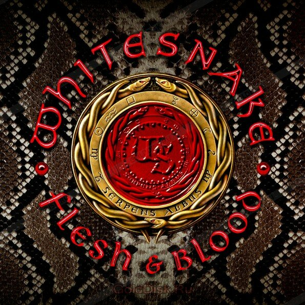 """Whitesnake"" ""Whitesnake. Flesh & Blood (CD)"""