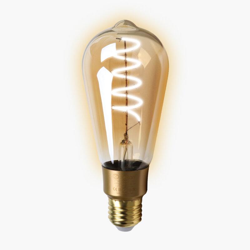 Лампа Zetton E27 4Вт 2700K фото 1